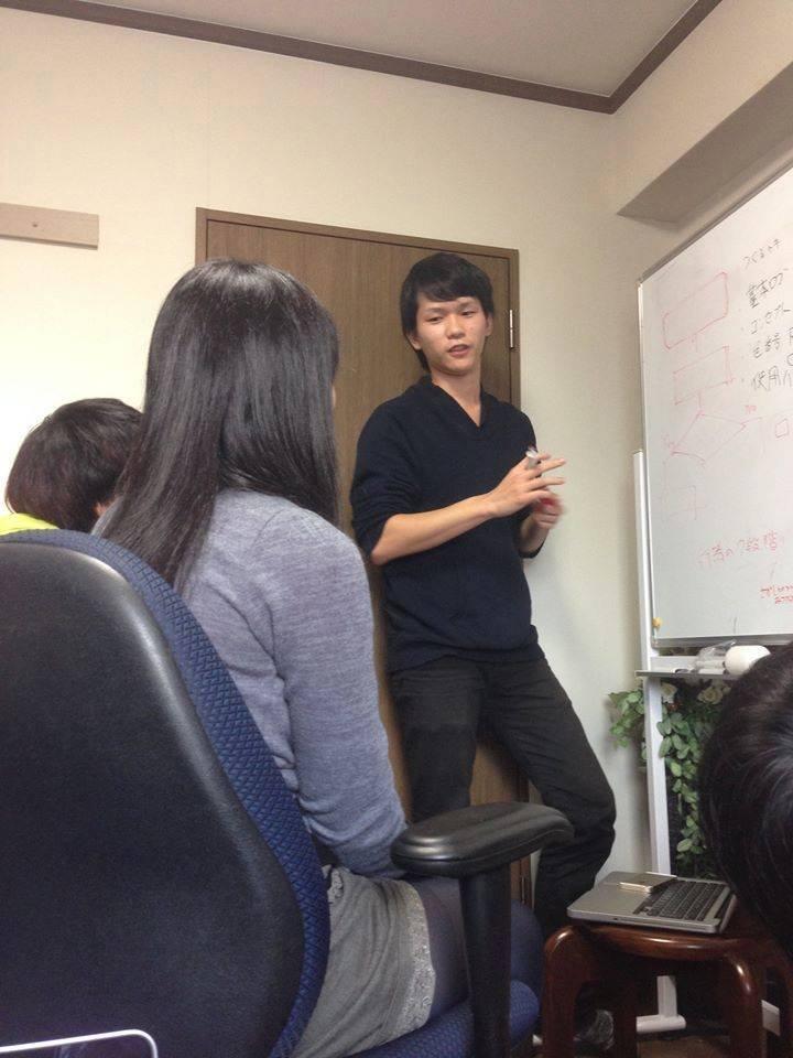 インターン生が勉強会開催!