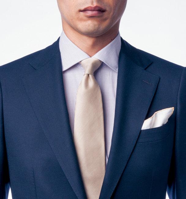 ネクタイの結び方 プレーン・ノット
