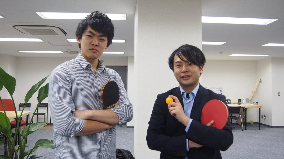 カウモ 卓球対決VS渋江