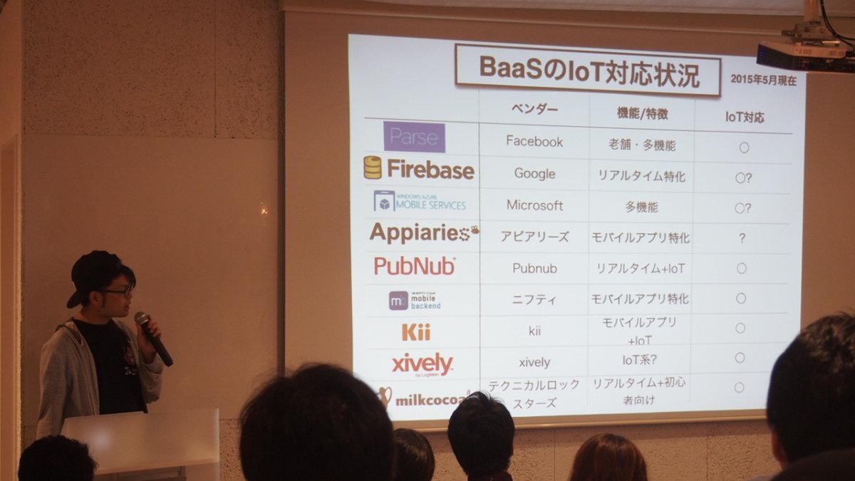IoT時代のBaaSトレンド紹介 菅原のびすけ 氏@LIG inc. / TOLABL