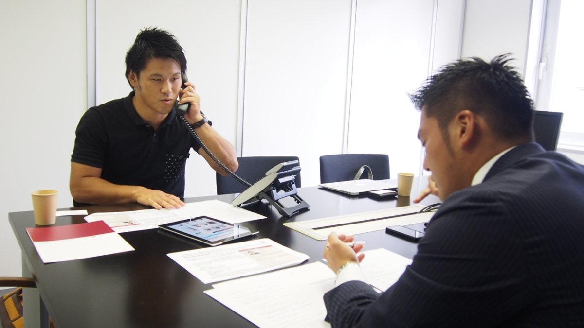 アブラハム・グループ・ホールディングス株式会社 職場体験 テレアポ
