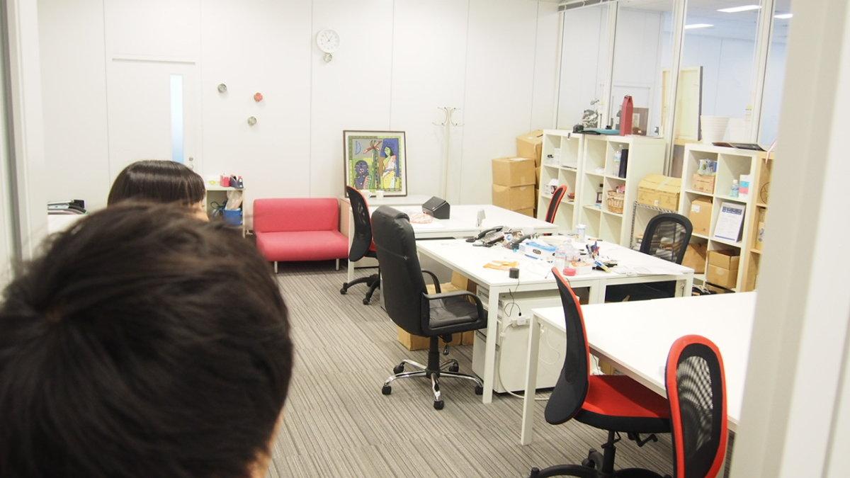 スキャンマン scanman 作業スペース
