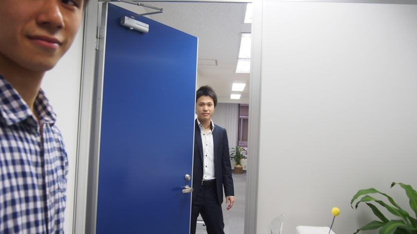 フロンティアエンゲージメント オフィス訪問 安岡 正晴