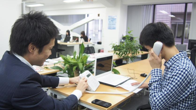 フロンティアエンゲージメント オフィス訪問 テレアポの練習