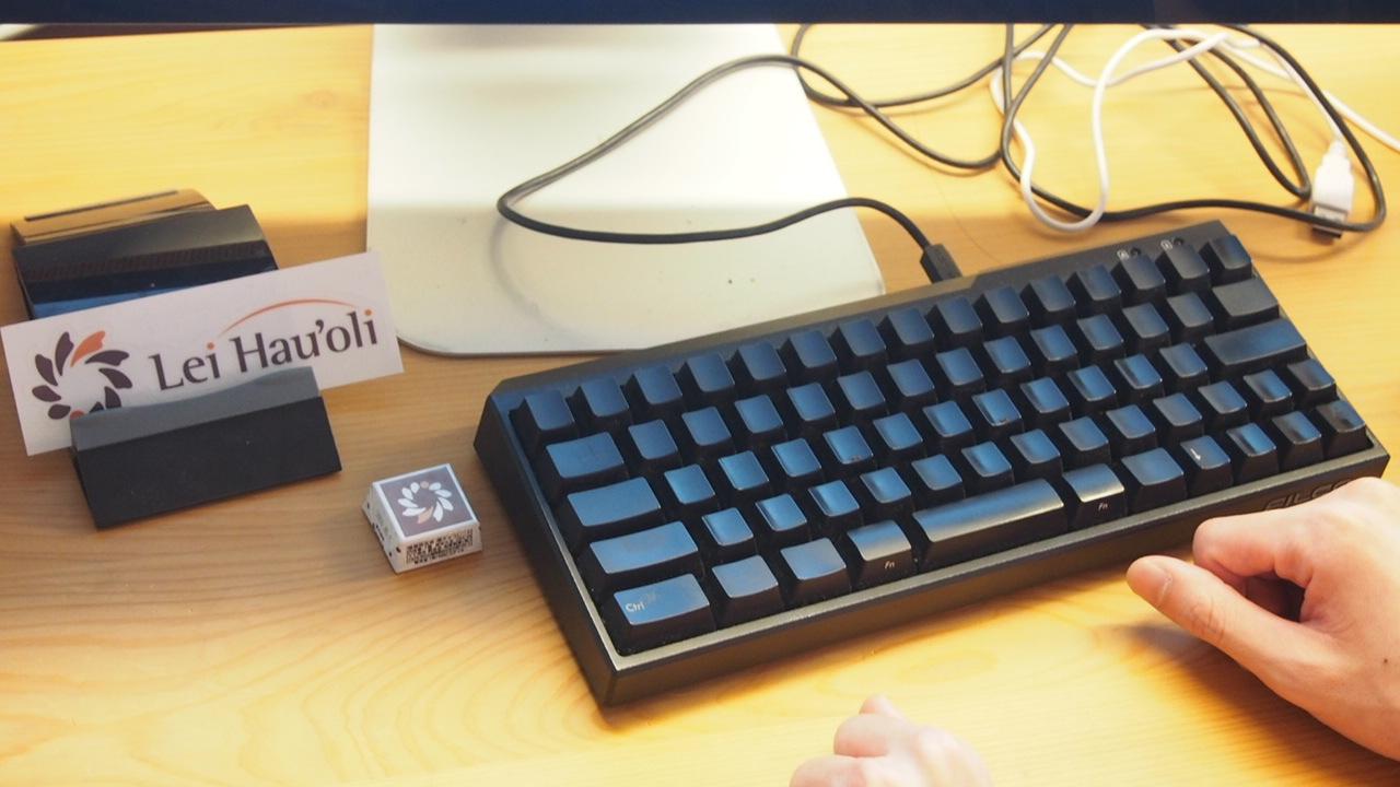 行ってきた 株式会社レイハウオリ 文字なしキーボード社員