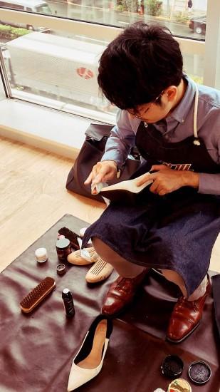 PRTIMES オフィス 行ってきた 靴磨き 出張サービス